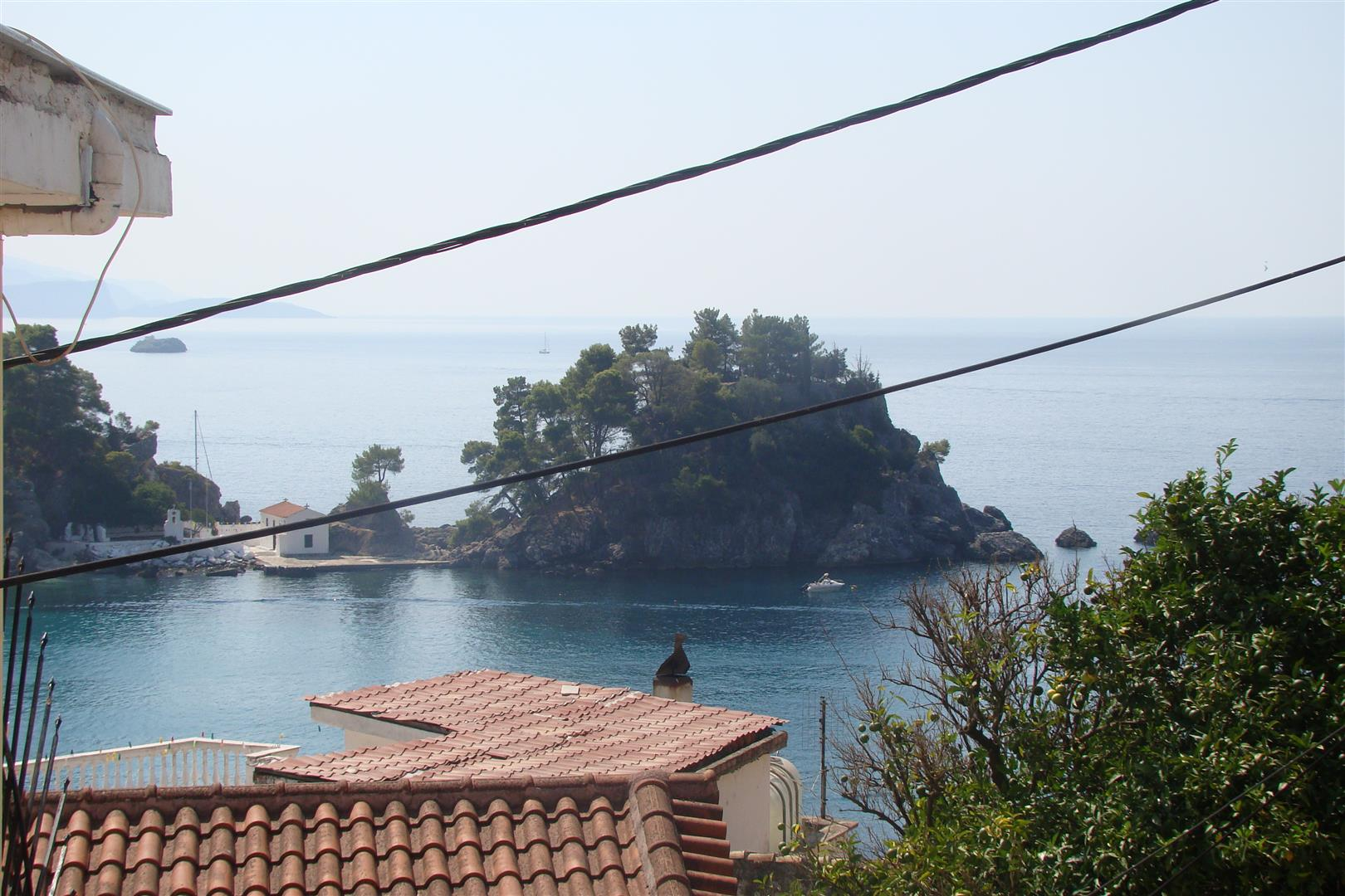House with wonderful view in Parga